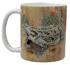 Horned Lizard 11 Oz. Ceramic Coffee Mug or Tea Cup