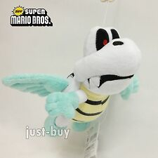 New Super Mario Bros. Plush Flying Para Dry Bones Soft Toy Stuffed Animal 7.5""