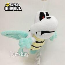 "New Super Mario Bros. Plush Flying Para Dry Bones Soft Toy Stuffed Animal 7.5"""
