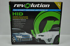 REVOLUTION H4 HID HEADLIGHT CONVERSION KIT XENON 12V 35W LAMP 62-96184