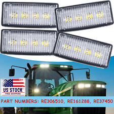 4pcs Led Upper Cab Light Lamp For John Deere 7210 7410 7510 7610 7710 7810