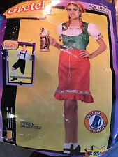 Gretel Halloween Costume Oktoberfest Women's One Size Fits Most New COSTUMANIA