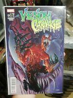 Venom vs. Carnage #4 Peter Milligan Clayton Crain Mulligan Toxin Mexican Edition