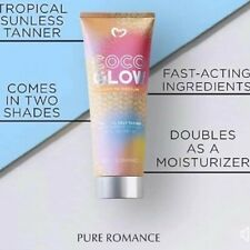 COCO GLOW Tropical Sunless Tanner-Sun Kissed skin without the burn! Pure Romance