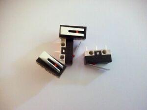 Micro switch contacteur à levier lot de 4