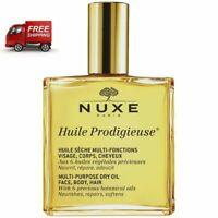 Nuxe Huile Prodigieuse 100ml, Multi Purpose Dry Oil Face-Hair-Body