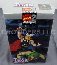 "Marvel Comics Level 2 Glue Together Model Kit The Mighty Thor 8.75"" ToyBiz '98"