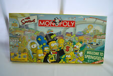 "Parker Brothers Monopoly The Simpsons ""Welcome to Springfield"""