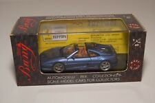 V 1:43 BANG 8030 FERRARI 355 GTS ROAD STREET METALLIC BLUE MINT BOXED
