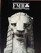 Rivista d'arte FMR (mensile di Franco Maria Ricci - n°28 1984  1/16