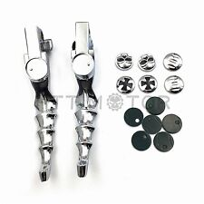 Steel Skull Zombie Brake clutch Lever For HARLEY XR XL 883 1200C X Sportster New