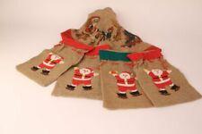 Bundle Jutesaeckchen Sacco di Iuta Natale Decorazione Tovaglia Natalizia
