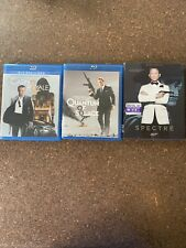 James Bond 007 (3 Daniel Craig movies) Blu-ray lot collection