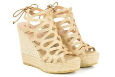 KANNA CAGED HIGH WEDGE SANDAL SIZE 40 BRAND NEW WITH BOX