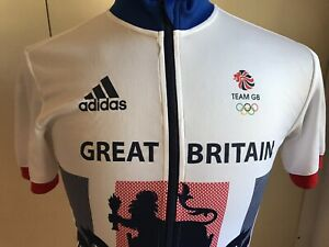 ADIDAS Cycling Jersey Team GREAT BRITAIN CYCLING 2016 Italy MAGLIA