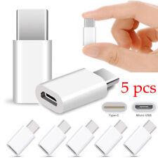 5x USB-C TIPO-C A MICRO USB Datos Adaptador de carga para Samsung Galaxy Note