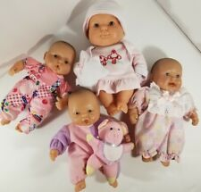 "Lot Of 4 Berenguer Baby Doll 5"" Mini"