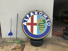 Grande insegna Alfa Romeo Originale