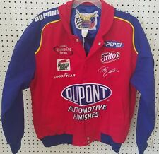 JEFF GORDON by JEFF HAMILTON Racing Collection Embroidered Cotton Jacket Size L