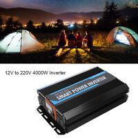 Convertisseur 12V à 220V 5000W Onduleur dc to ac Transformateur USB pour urgence
