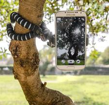 Universal Mini Clip Bracket Holder For Mobile Phone & Flexible Legs Tripod Stand