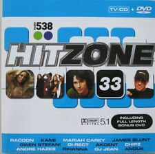RADIO 538 - HITZONE 33 -  CD + DVD