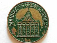 "Vintage Classic Marriutts ""Great American"" Green Game Token"