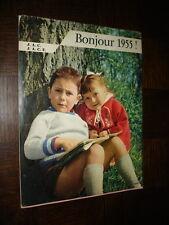 CALENDRIER 1955 - JAC - JACF - Jeunesse Agricole Catholique