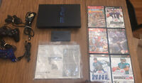 Sony PlayStation 2 FAT Console Bundle SCPH-50001 W/ Inst, 2 Controllers, & Games