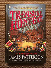 Treasure Hunters by James Patterson and Chris Grabenstein - Hardcover Book