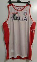 RARA Canotta basket Pallacanestro Italia Spalding Allenamento double-face NUOVA
