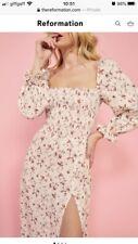 Reformation Gitane Dress Brand New Size XS