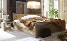 Bettgestelle ohne Matratze aus Kiefer mit eingebautem Nachttisch