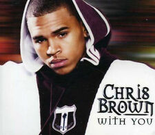 Chris Brown With You CD Single Rare 2007 Fallen Angel (Instrumental) Exclusive