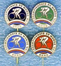 1969 UCI World CYCLING Championships 4x pin BADGE a nice set