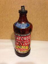Sanford's Premium Writing Fluid Ink Master Bottle Amber One Quart