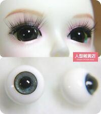 16mm  For BJD DOD AOD MK OK RD Doll Dollfie Glass Eyes Outfit grey blue 25
