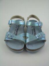 Scarpe sandali stretti blu per bambine dai 2 ai 16 anni