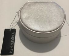FOREVER NEW Small Round Jewellery Box - GI3051 - Porcelain Sparkle - #A15