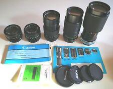 5 Objektive Panagor Porst Canon