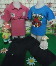 vêtements occasion garçon 8 ans,bermuda TIMBERLAND,t-shirt,polo SCOTT ET FOX