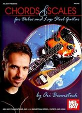 CHORDS & SCALES FOR DOBRO AND LAP STEEL GUITAR - BEANSTOCK, ORI - NEW PAPERBACK