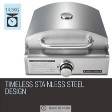 Euro-Grille Portable 3 in 1 Pizza Oven Grill Cast Iron Plate Ceramic Stone LPG