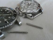2 Thick Spring Bar Pins For Rolex Submariner Daytona GMT New Datejust etc. 20 mm
