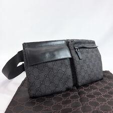 Bolsa de cuerpo de Gucci 28566 GG Lona Hombre