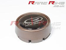 Rota alloys Centre Cap New Matte Bronze Medium Top (caps)