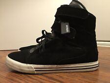 SUPRA TK SOCIETY Terry Kennedy, Black, Men's Skateboarding Shoes, Size 13