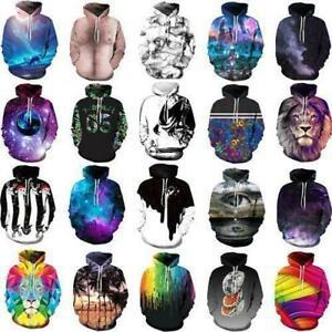 Funny 3D Print Men Women's Sweater Sweatshirt Jacket Coat Pullover Graphic Tops