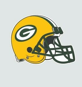 Green Bay Packers Helmet Football Color Sports Decal Sticker-Free Shipping