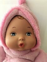 "Madame Alexander My First Baby Doll Powder Pink Curl 11"" EUC Precious 2014 Good"